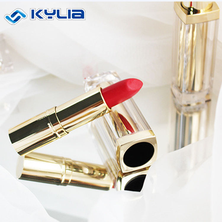あなた自身の口紅チューブ 32 グラム化粧容器ユニークな高級口紅金属空の口紅チューブ