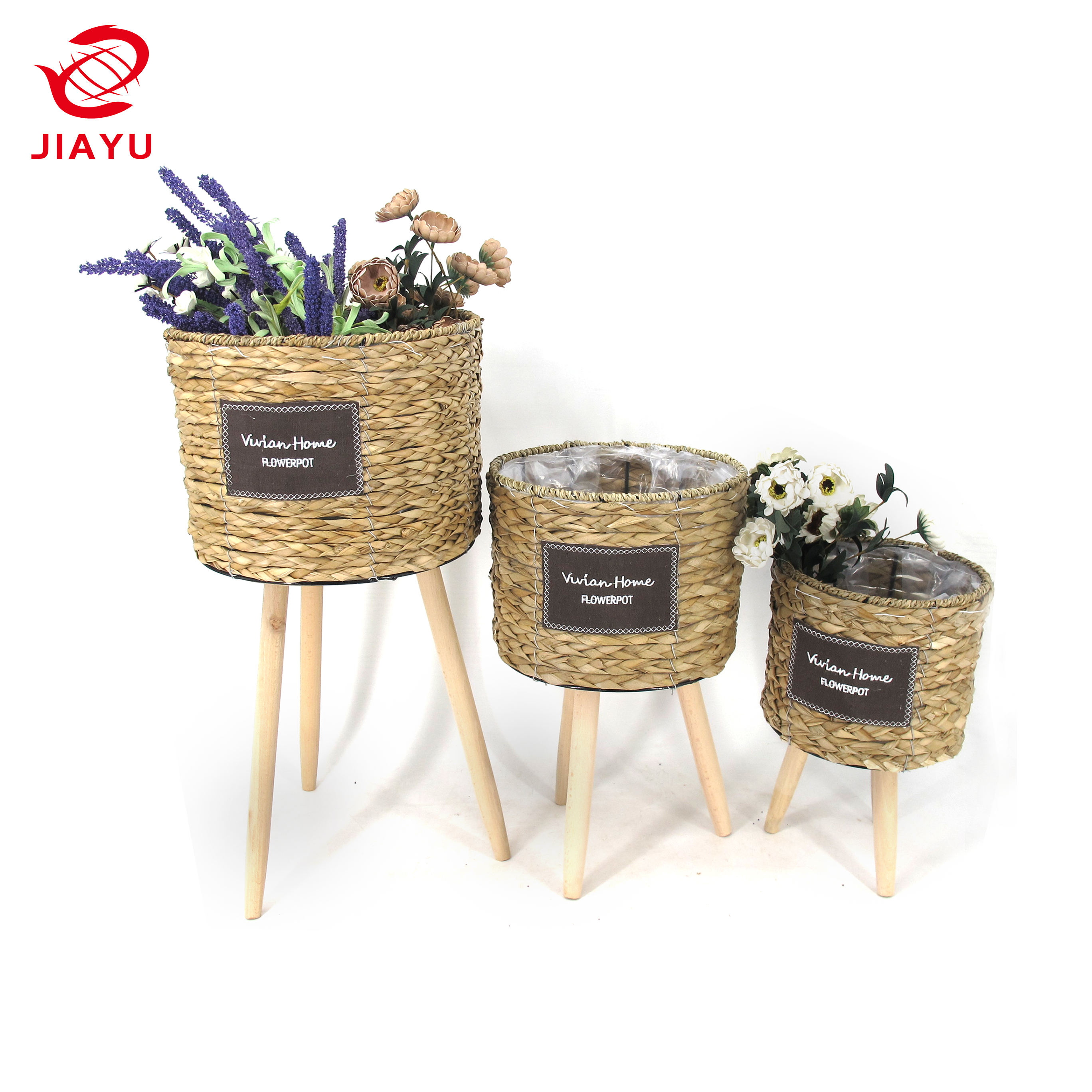 10% Off! Water Hyacinth Basket Hyacinth Storage Flower Basket