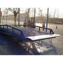 best selling dock ramp mobile material electric lift dock ramp