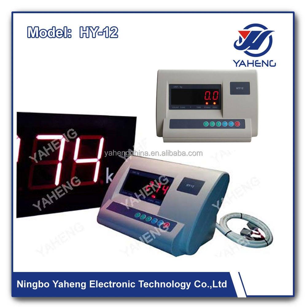 セールスより速く多機能インジケータhy12計量インジケータデジタルバスルームスケール