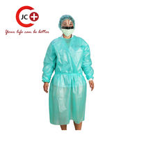 Waterproof isolation gown of china manufacture