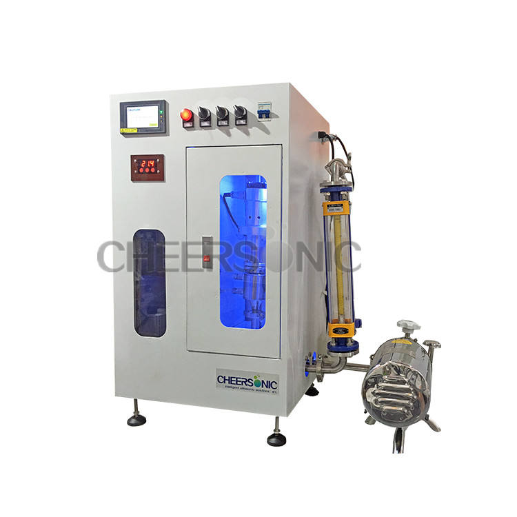 500L to 2500L Ultrasound Ultrasonic plant extracting sonically industrial