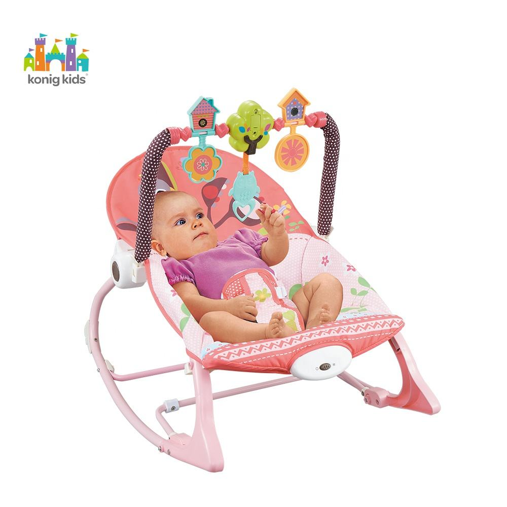 Konig Kids Baby Bouncer,Baby Rocker With Vibration and Music