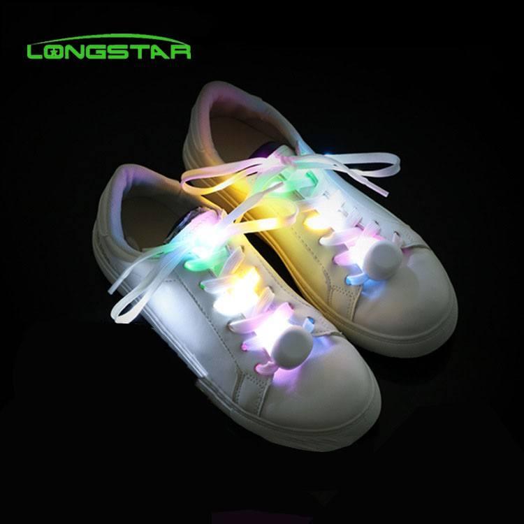 Led ライトパーティー用品ライトアップナイロン靴ひも