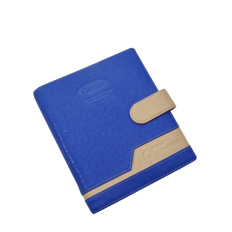 Useful PU Leather Folder Student Diary Cover