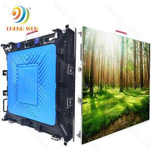 Indoor Led Display Screen 512*512mm TV Wall P4 Advertising Led Display Panels Billboard