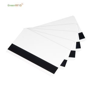 125khz blank pvc rfid magnetic stripe smart card
