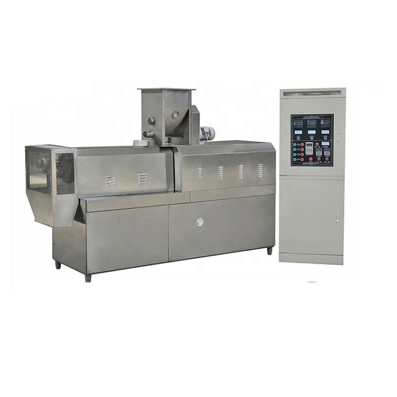 Crisp and dry fruit snack processing line food chip snack making machine