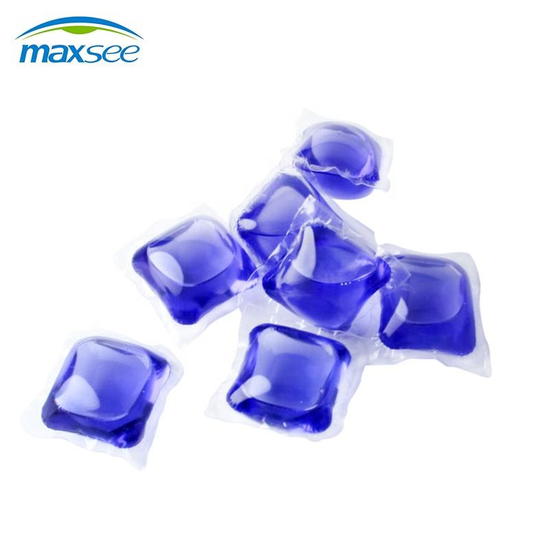 Maxsee high concentrate liquid detergent pods water soluble capsules