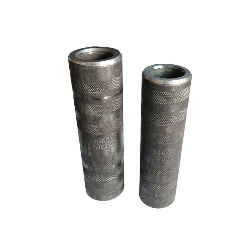 Building Materials Cold Extrusion Press Threadless Rebar Coupling Coupler