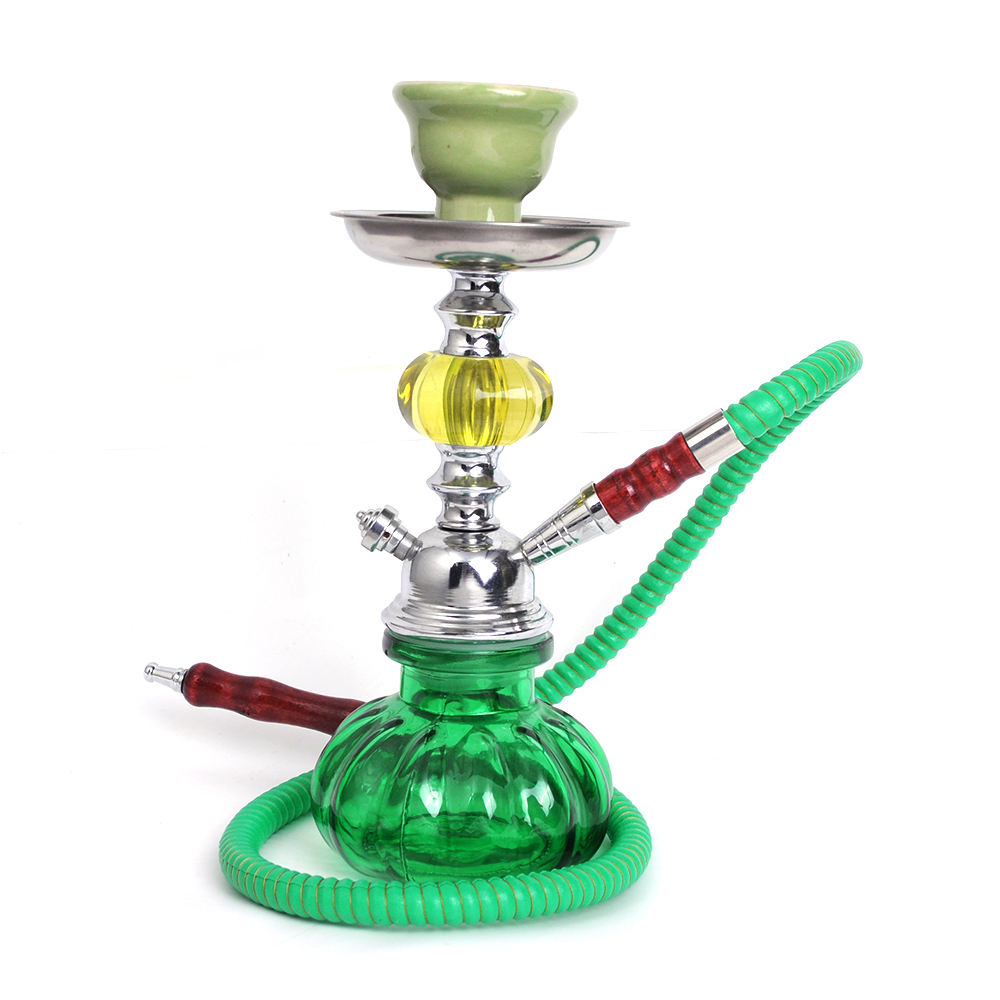 Excellent Quality new design shisha hookah with pumpkin vase german shisha