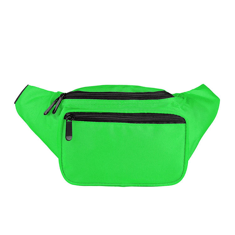 Wholesale custom print waterproof men fanny pack waist bag, fashion women bum bag