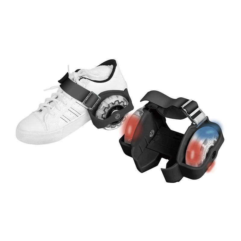 Adjustable high heel Flashing Roller Skates with two LED wheel