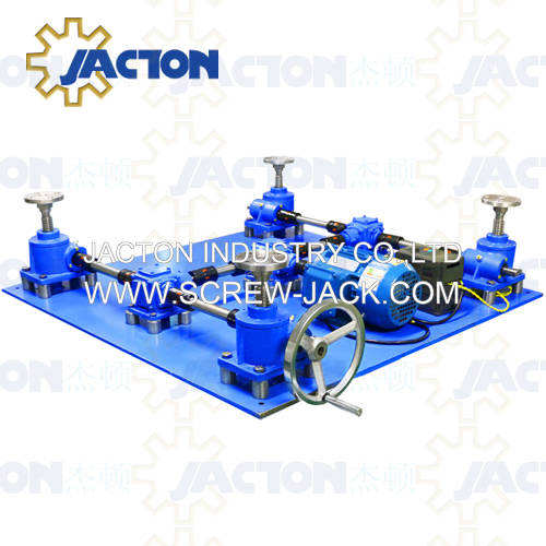 competitive price electric screw jack lifting system for table or platform simultaneously
