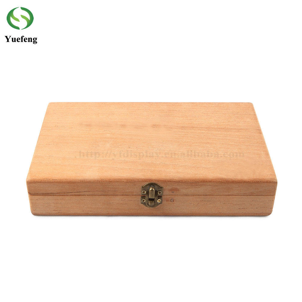 Nature Color Spanish Cedar Wooden Cigae Box