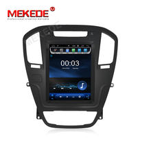 MEKEDE 2+16g Tesla screen Android 8.1 2+16g Car dvd gps player for OPEL INSIGNIA 2008-2011 wifi 4g autoradio video radio stereo
