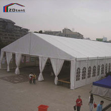 Big outdoor commercial trade show exhibition tent event