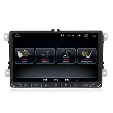 MEKEDE Android 9.0 quad core car dvd player for VW SKODA GOLF 5 Golf 6 POLO PASSAT B5 B6 wifi gps radio mirrorring Navigation