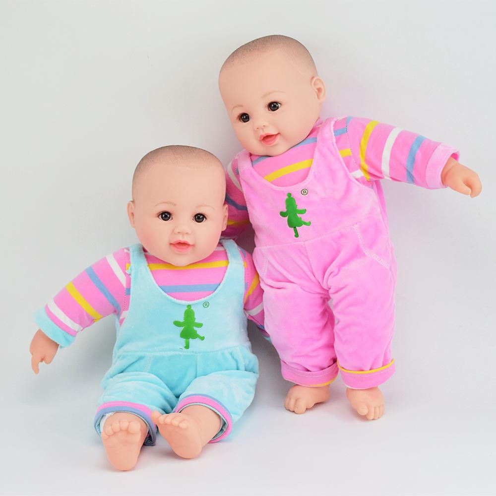 ソフトおもちゃ安い現実的な子の赤ちゃん人形用イングランド