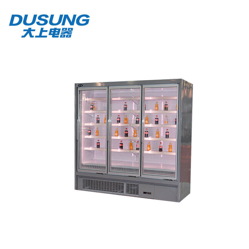 <span class=keywords><strong>Art</strong></span> exquis porte en verre réfrigérateur présentoir de l'aliment pour vente
