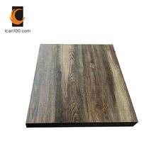 Rust Proof Exclusive Cafe Bistro Industrial Wooden Look Dining Tables Table Top