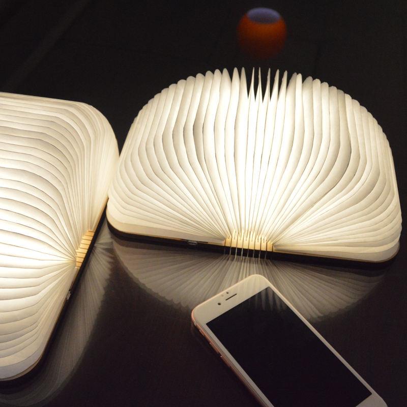 <span class=keywords><strong>Casa</strong></span> con calidad superior plegable LED colorido libro de luz en forma de