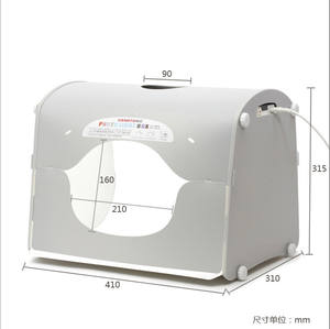 Fashion Jewelry portable mini photo box K40 K50 K60 LED SANOTO softbox photo studio photography light box