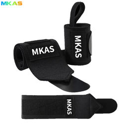 Nylon Made Knitted Thicken gym Weight lifting  Wrist Wraps support