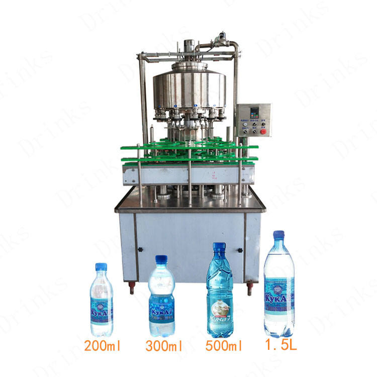 Automatic 12 Heads Plastic Bottle Beverage Juice Mineral Water Filling Machine Turkey