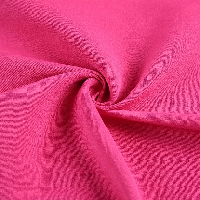Chine gros robe faire 4 extensible lycra <span class=keywords><strong>polyester</strong></span> viscose élasthanne tissu