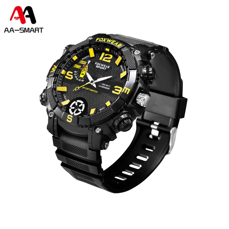 AA-Smart A-FOX9 HD 1080 P IPX7 등반 Spy Camera Watch WiFi