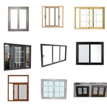 New Design CE As2047 AS2208 Kitchen Aluminium Frame Sliding Window Design,Cheap Aluminum Alloy Profile Frame Glass Slide Windows