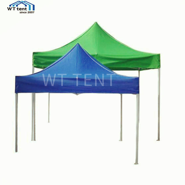 EZ up Foldable Outdoor Manual Assembly Gazebo Tent