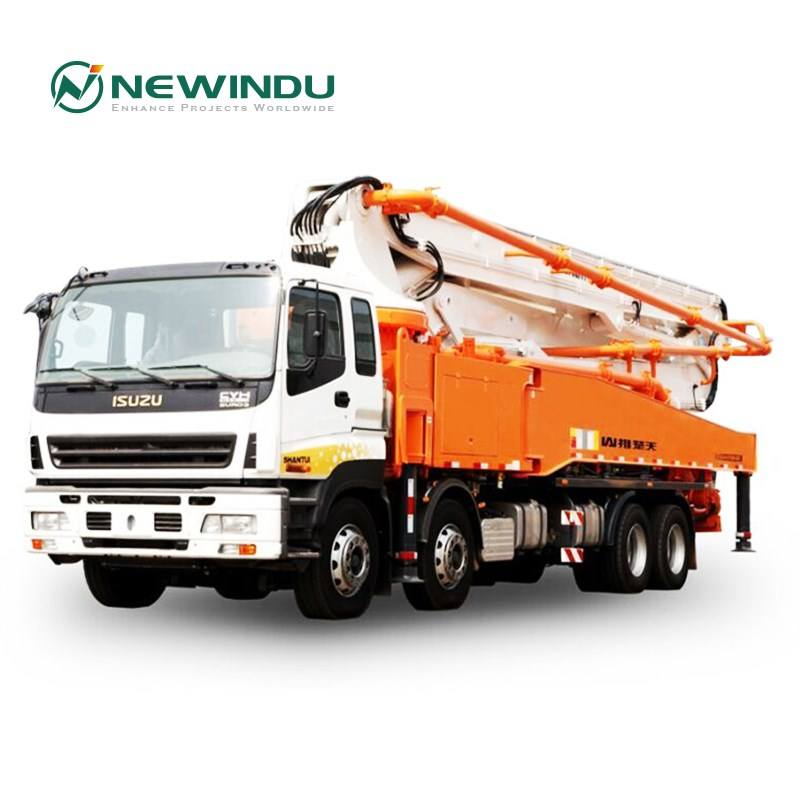 Shantui Concrete Pump Truck 56m Squeeze Cement Pump Truck THB56 Truck for Sale