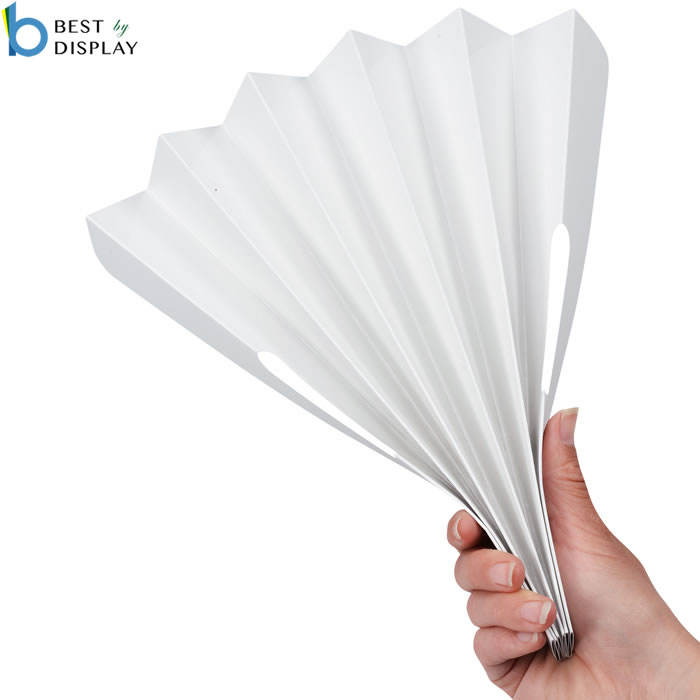 Paper Clapper Promotion Paper Banner Cheerful Cardboard Hand Fan Clapper