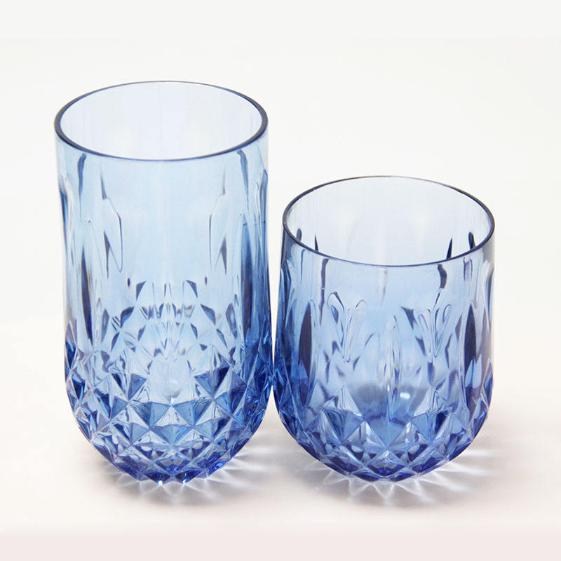 Factory Direct Unbreakable Yujing Glassware Cipher Drinking Glass Plastic Water Cup Glass Cup Drinking Plastic Drinking Glasses