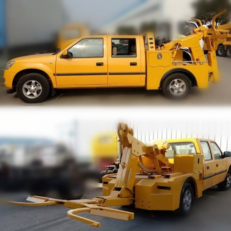 3 ton pickup towtruck rad lift wrecker schlepptau lkw