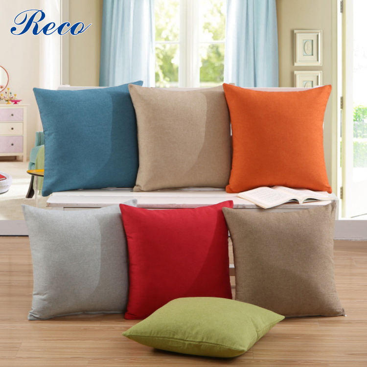 Household articles, cloth and ornaments, pure color cushion sleeve/pillow sleeve sofa cushion