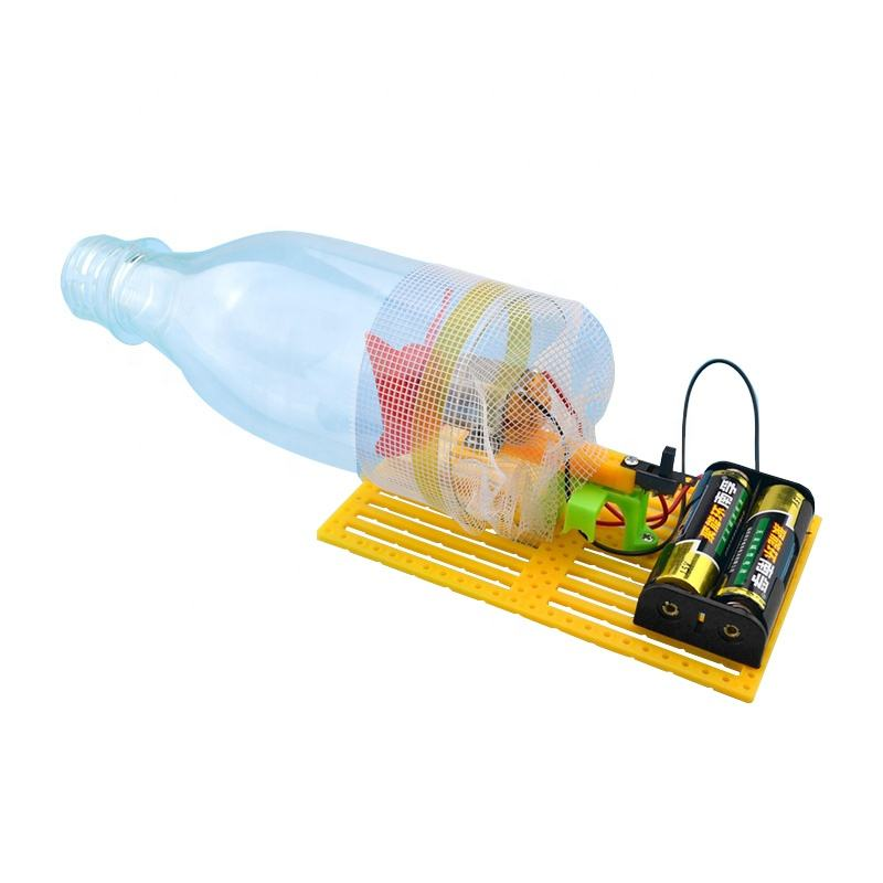 Kids home invention diy study physics toy vacuum cleaner