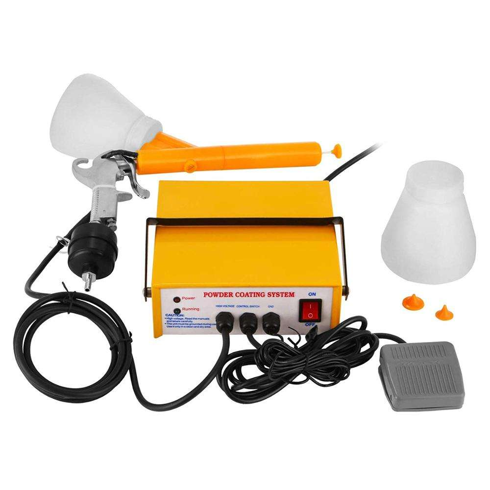 Hsinda portable manual spray gun electrostatic spray powder coating gun system machinery