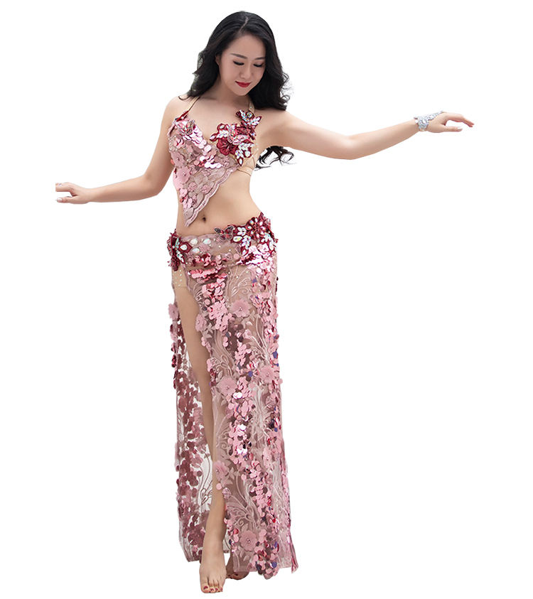 QC3053 Wuchieal Professional Customized Arabic Belly Dance Costume