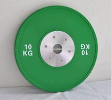 Weight barbell Rubber plate
