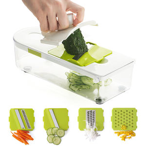 High Quality 7 in 1 Kitchen Mni Hand Grater - Nice Vegetable Slicer Dicer