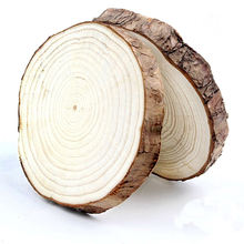 Eco-friendly pine wood round new design personality handcraft antique wooden discs craft ornament