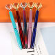 Promotion Big Top Diamond Pen Multi Color Diamond Crystal Ballpoint Ball Pens For Wedding Gift