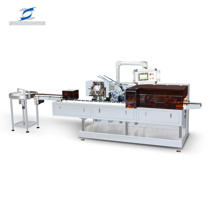Best trading products packing bottles/vials custom automatic cartoning machine