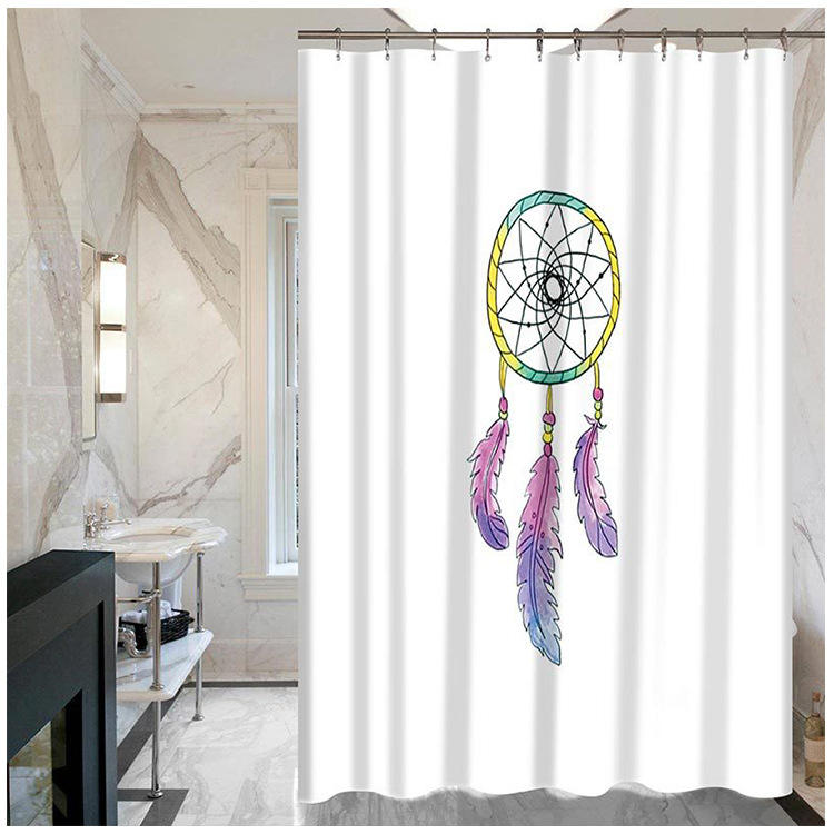 Cheaper Dreamcatcher Printed Private Bathing Shower Curtain