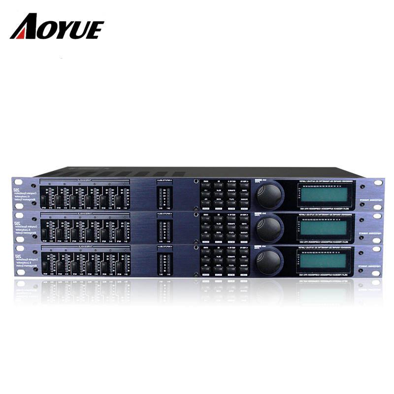 Digital de Audio dsp Procesador D-260 señal <span class=keywords><strong>LED</strong></span> ecualizador Karaoke KTV procesador de sistema