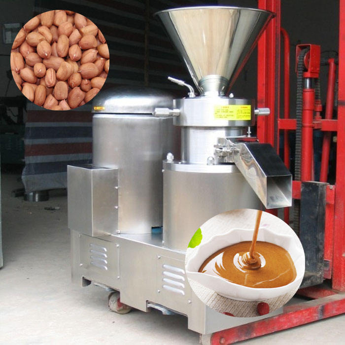 professional best performance peanut butter colloid milling