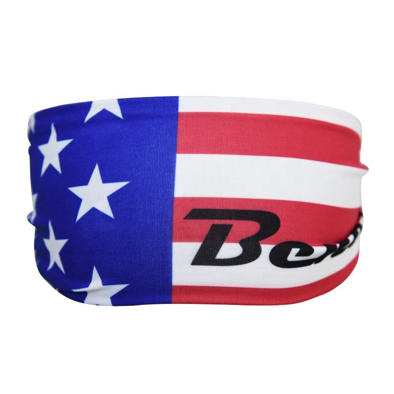 Wholesale custom sport bandana headband manufacturer, Custom non-slip Yoga Headband Design